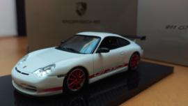 Porsche 911 (996) GT3 RS wit rood - 2003
