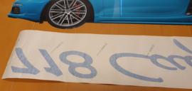Porsche 718 Cayman S - Dealer window sticker XL