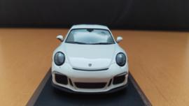Porsche 911 (991.2) R 2016 white Minichamps