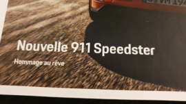 Porsche 911 991 Speedster Hardcover brochure 2019- FR
