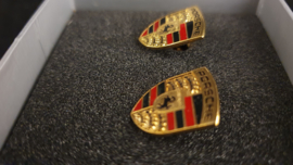 Porsche Manschettenknöpfe - Porsche Emblem - WAP05014015