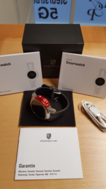 Porsche Smartwatch mit Bluetooth, WiFi, GPS und Fitnessfunktionen-WAP0709010K