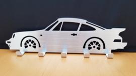 Porsche keychain sign 911 G-Model with spoiler 1985
