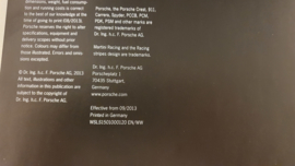 Porsche 918 Spyder Hardcover Broschüre 2013 - EN