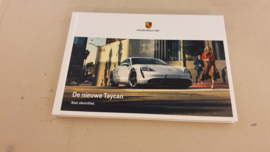 Porsche Taycan Hardcover brochure 2019