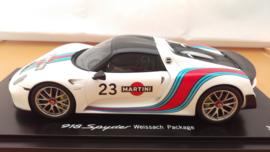 Porsche 918 Spyder 2014 - #23 Weissach Package - Porsche Händler Edition