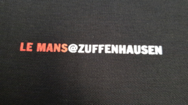Porsche zwarte Poloshirt Zuffenhausen Porsche Museum - Le Mans