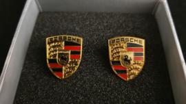 Porsche manchetknopen - Porsche embleem - WAP05014015