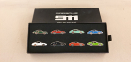 Porsche 911 Lapel pinset Timeless Machine - 1963-2020
