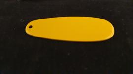 Porsche keychain lacquered racing yellow / chrome - Porsche Museum MAP06610212