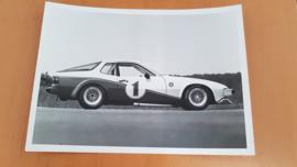 Porsche 924 fabrieks racecar modeljaar 1979 - Werkfoto Porsche