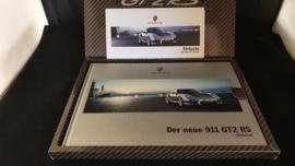 Porsche 911 997 GT2 RS hardcover brochure VIP package - 2010
