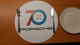 Porsche 70 Years Anniversary sticker