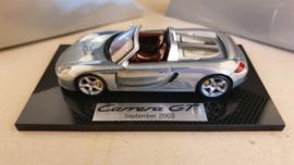 Porsche Carrera GT 2003 - signed walter röhrl