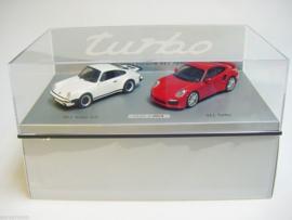 Porsche 911 Turbo set 1:43 - 40 jaar 911 Turbo