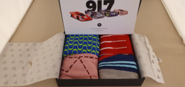 Porsche 917 Racing Legends Pack - HEEL TREAD Socks