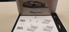 Porsche Taycan Design sketch - gift box