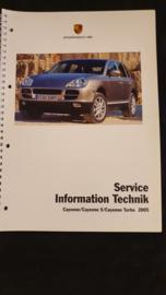 Porsche Cayenne / Cayenne S / Cayenne Turbo Service Information Technik - 2005