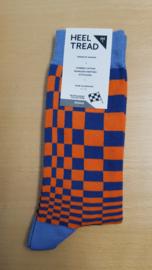 Porsche Pasha Gulf kleuren - HEEL TREAD Sokken