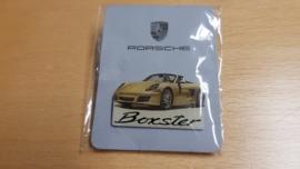 Porsche Boxster 718 pin - Yellow
