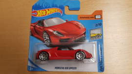 Porsche 918 Spyder - Hot Wheels 1:64