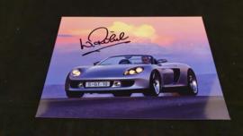 Porsche Carrera GT - Signature Walter Röhrl