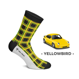 Porsche RUF CTR Yellowbird - HEEL TREAD socks