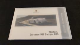 Porsche 911 997 GTS Hardcover Broschüre 2010 - DE - Mit Schlüsselanhänger und USB-Stick