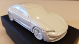Porsche Taycan 2019 - Paperweight white