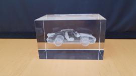 Porsche 911 993 Turbo  - 3D kristalglas