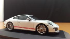 Porsche 911 (991.2) R 2016 blanc Minichamps
