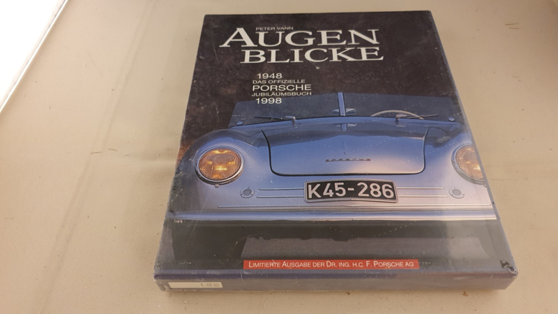 Porsche 50 years 1948 - 1998 Augenblicke anniversary book Peter Vann - Limited Edition