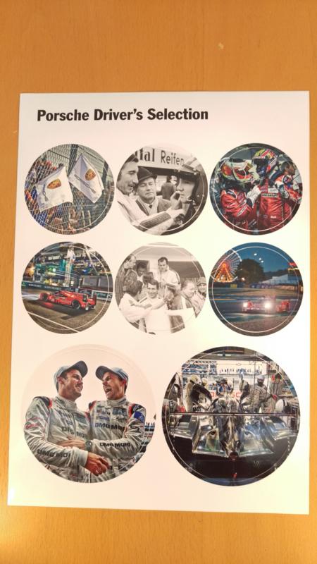 Porsche Driver's Selection stickervel