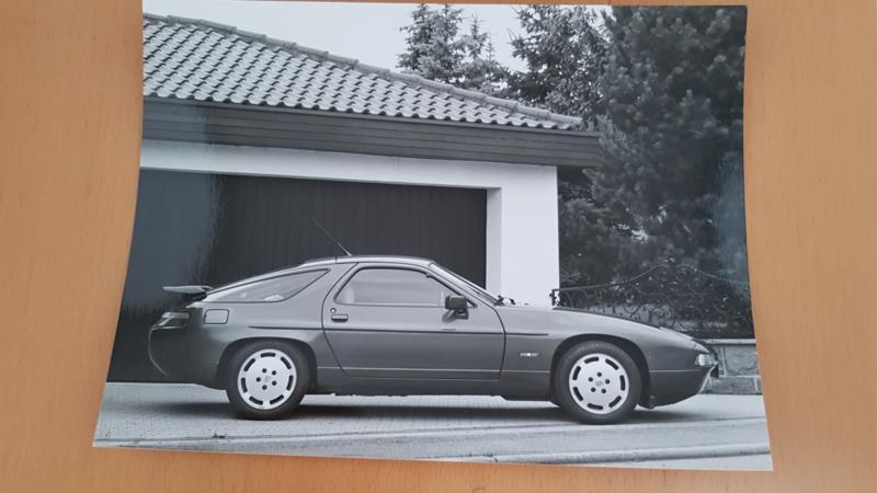 Porsche 928 S4 année modèle 1991 - Photo de travail Porsche