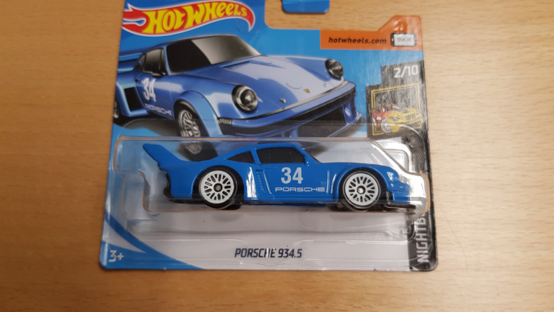 Hot Wheels Porsche 934.5 Racing Keychain Keyring