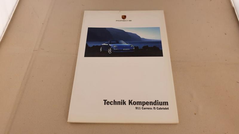 Porsche 911 997 Carrera en Carrera S Cabriolet Technik Kompendium - 2004