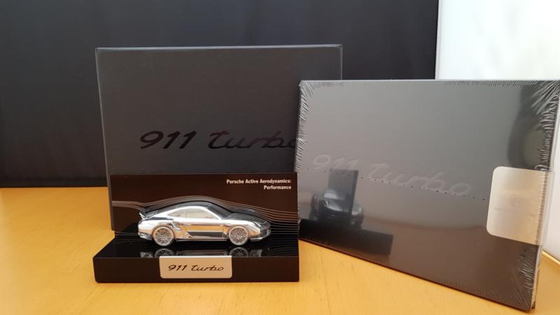 Porsche 991 Turbo Active Aerodynamics Modèle de performance