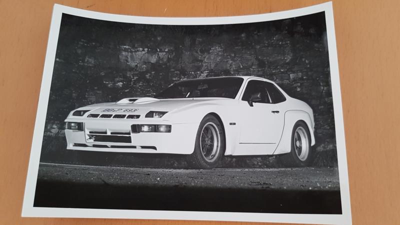 Porsche 924 Carrera GT modeljaar 1981 - Werkfoto Porsche