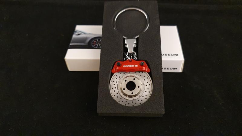 Porsche Schlüsselanhänger - Bremsscheibe rot - MAP04506412
