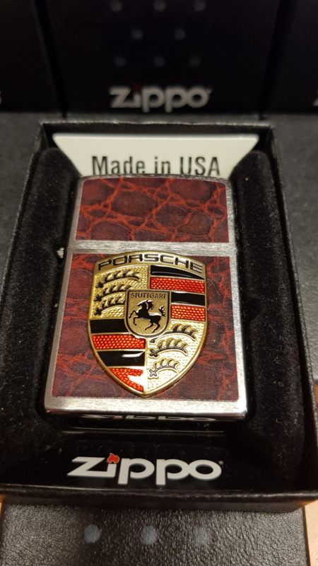Porsche Zippo Lighter,different motifs