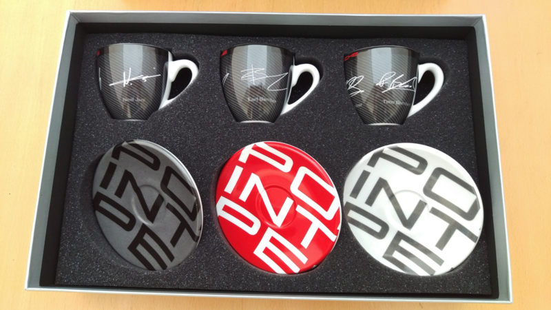 Porsche Espresso set - Racing Collectie