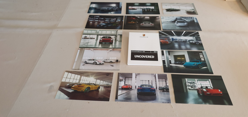 Porsche Postcards Uncovered 2017