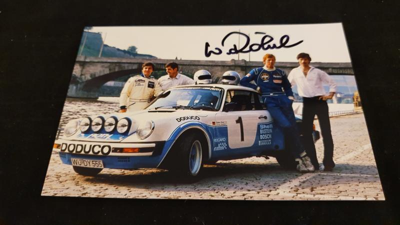 Porsche 911 Doduco 1981 - Signatur Walter Röhrl