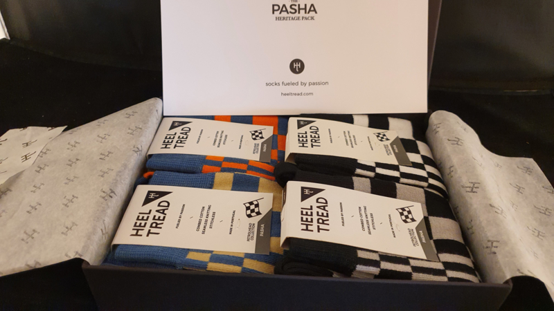 Porsche Pasha Heritage Pack - HEEL TREAD Chaussettes