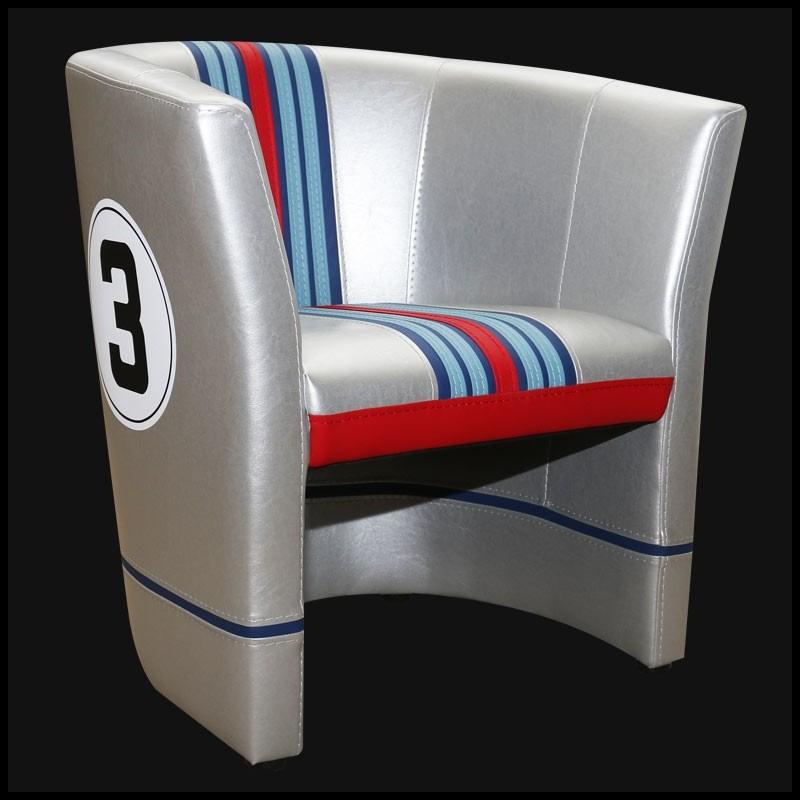 Klassieke Design Stoelen.Porsche Cabriolet Chair Martini N 3 Racing Design Porsche Stoelen