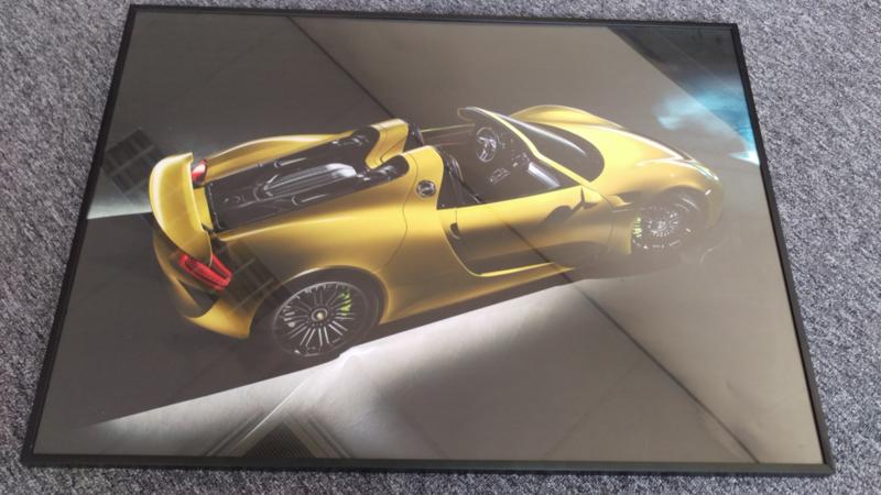 Porsche 918 Spyder Automobilia Collection Exclusive Car Art