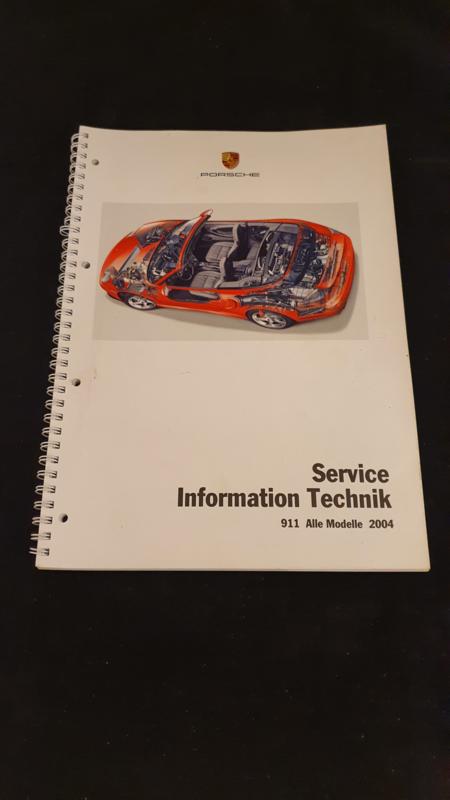 Porsche 911 996 alle modellen Service Information Technik - 2004