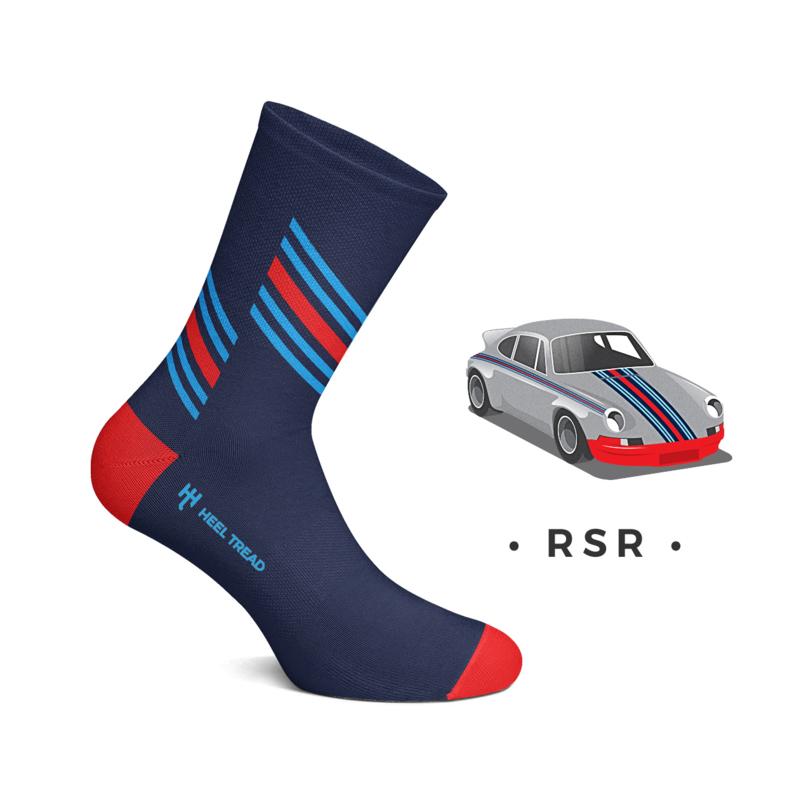 Porsche RSR Martini Racing - HEEL TREAD Socken