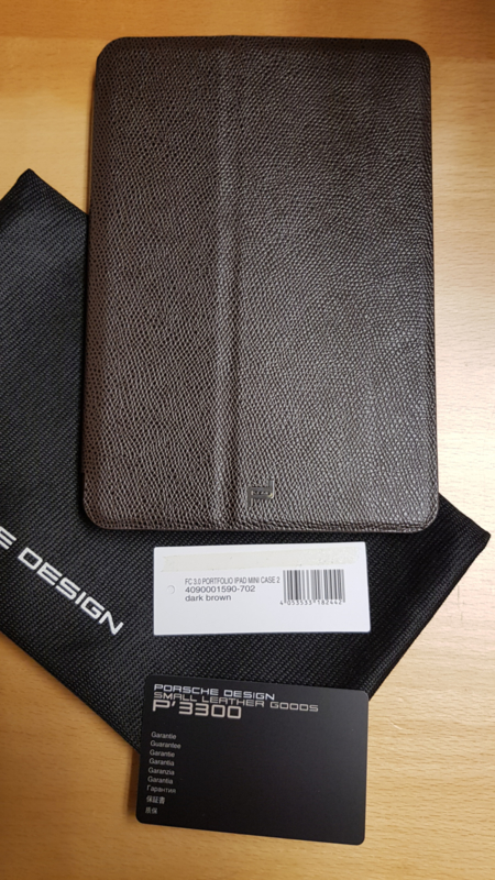 Porsche Design Tablet Cover for Ipad Mini 2 - Brown leather