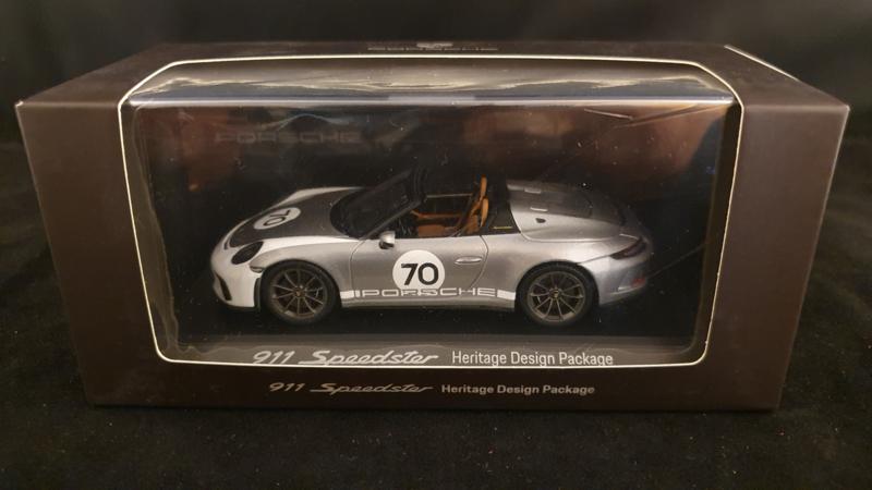 Porsche 911 (991) Speedster Heritage Design Edition 1:43 - WAP0201940K